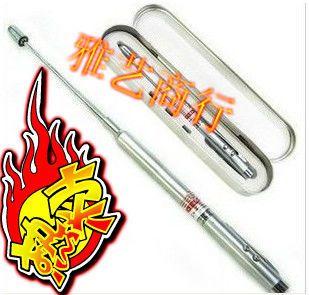 Can be retractable laser pointer pen pointer pen laser pen send the teacher gift ballpoint pen(China (Mainland))