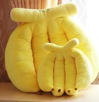 Free shipping  2013 Hot cute plush Banana pillow cushion oversized pillow plush toy fruit pillow day gift
