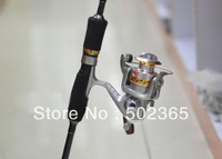 hot sale Spinning sea fishing reel Lure fishing reel SG2000A round pole fish spinning reel metal (FR005) free shipping