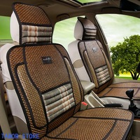 FREE SHIPPING Wholesale new summer seasons cane straw steam car seat cover mat bamboo mat ZD048 Car seat cover