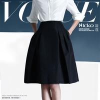2013 spring and summer women's fashion ol work wear skirt high waist skirt bust skirt tailored 043