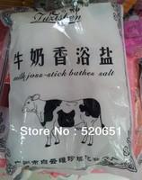 Free shipping Milk bath salt bath salt beauty salon SPA foot powder 40bags foot powder milk bath salts