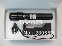 High power 5000mw 532nm green laser pointer focus burning match green laser torch