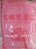 Free shipping Rose bath salt bath salt beauty salon SPA foot powder 40bags foot powder Rose bath salts