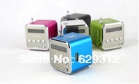 Portable mini card small speakers small stereo subwoofer mp3 radio TD-V26