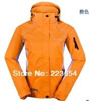 Free shipping 2013 New Autumn Winter woman Fashion Jacket .Waterproof, Breathable women Outdoor jackets