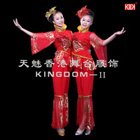 Drum 2013 fashion clothes modern dance square dance younger costume
