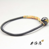 Free Shipping! Free shipping! Colored Rope Bracelets Lucky Source Chinese Zodiac Obsidian Bracelet