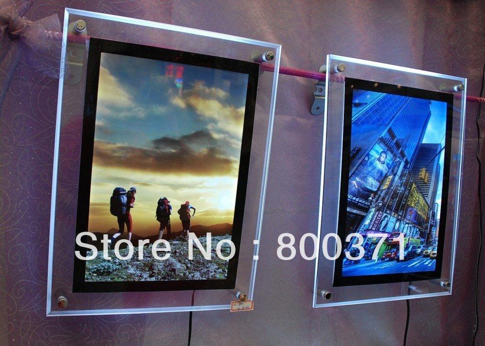 Led Movie Poster Light box Display Frame Cinema,Led Lightbox Light Up ...