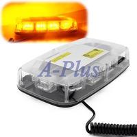 Dropshipping hot sale DC12V 30 LED 1W Magnets Emergency Strobe Lightbar K30-1W Amber Light Warning light S 12024