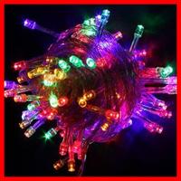 Free Shipping 5pcs/Lot ,led light garden spot lights, strip light,220v 5M 50LED for Christmas Party Wedding 9Colors