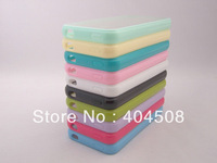 cell phone cases for Iphone 5 5g 4 4S Matte Frosted clear PC Hard Back Cover shell TPU Bumper Frame support drop shpping