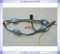 Waterproof DC5V 12mm Square IC WS2801 RGB LED string light LED full color pixel Module Highlight LED Module 600pcs free shipping