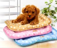 free shipping Pet liangdian pet multi-colored liangdian pet mat oxford fabric waterproof summer liangdian dog cooling mat