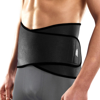 Aq high back sports basketball thermal waist support fitness breathable waist support belt