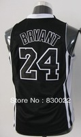 free shipping Kobe 2013 Los Angeles Bryant #24 kids boys girls Embroidery basketball jersey custom name number logo white purple
