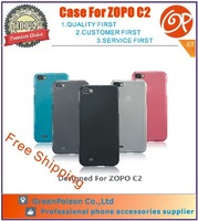 New Arrival Free Shipping 5 Colors For Choice 5.0 inch TPU ZOPO C2 Case, Assorted Colors