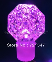 Wholesale and retail Christmas decoration Imitation stones pink light,230V,8W,10m/100pcs,High quality waterproof lamp series