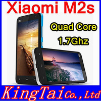 "XIAOMI M2 M2S Mi2S 2G RAM 16G/32GROM 4.3""capacitive IPS QUADcore 1.7Ghz 3G Mobile Android4.1 2MP+13MP or 8MP camera"