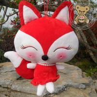 30cm plush toy fox stuffed animals red soft fox doll 2 style 30cm/40cm/50cm