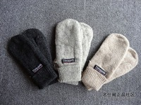 free shipping 3m thinsulate gloves thermal insulation cotton lovers mitten winter three-color