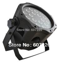 LED par light waterproof IP65 par 64  RGBW ( quad-color 4in1 color) with 18pcs 10W LED