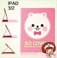 For apple   protective case ipad3 cartoon protective case ipad4 mount holsteins ipadmini holsteins easy bear