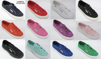 Superga classic lacing shoes female canvas shoes star