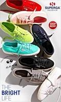 Classic canvas superga platform shoes comfortable star of the original box