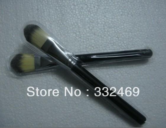Free Gift!!! Lowest price COMETICS Makeup 190 Professional Foundation Brush Brushes 2pcs/lot(China (Mainland))