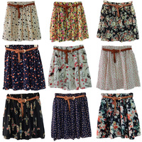 Ctrlstyle Fashion clothes women clothing 2014 skirts female plus size chiffon pleated skirt puff  short skirt skirts womens