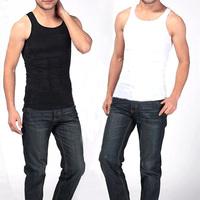 Men's Slim Body Shaper Belly Fatty Underwear Vest Shirt Corset Compression
