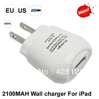 Best- Selling 2.1 A   US plug USB  ac Power Adapter for ipad /iPhone  Free shipping by dhl