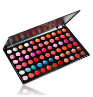 NEW Charming  Nutritious Utility 66 Colors  Glitter  Cosmetic Lipgloss  Makeup Palette Drop Shipping 207103