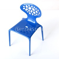 Free Shipping 1/6 Scale Miniature Furniture Octopus Chair For Dollhouse -Blue