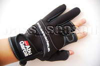 Abu Garcia Fishing Gloves Hunting Gloves Size L Free Shipping