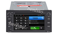Pure Android wifi  headunit car dvd gps for Toyota Universal   A8 CPU 1GHZ 1G ROM DDRII 512M 4G Nand Flash
