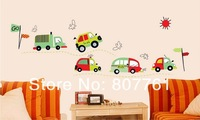 Retail 1 piecce/lot car Children's room wall stickers wall Decal Wall Decor Wall Art Decals