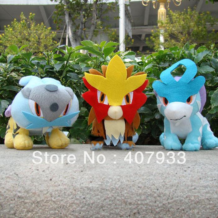 Pokemon Cards Raikou 6 Inch Pokemon Toy Raikou