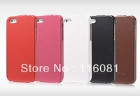 Luxury Retro PU leather case for iphone 5 5g Flip New Arrival Original with FASHION Logo Thin Cover, Free Screen Protector!