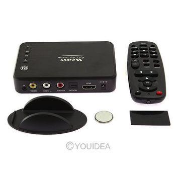 Mini Media Player Mini 1080P HDMI SD/USB HD Media Player MKV/AVCHD/MOV/H.264 USB2.0 TV AV 81866