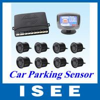 Big sale LCD Display Car Parking Sensor Car Reverse Backup Radar Kit with 8 sensors