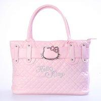 Free shipping Hello Kitty Shoulder Tote Handbag Satchel Shopper Purse