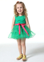 HOT SELL LITTLE PRINCESS BALL GOWN   FOR SUMMER
