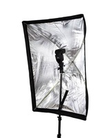 [Drop Shipping] Umbrella Softbox Brolly Reflector speedlite flash Studio 60 x 90cm   30200106