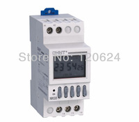 CHINT NKG3 NKG-3 LCD Microcomputer astro Time Switch  sunrise sunset based on latitude DIN RAIL DIGITAL timer programmable relay