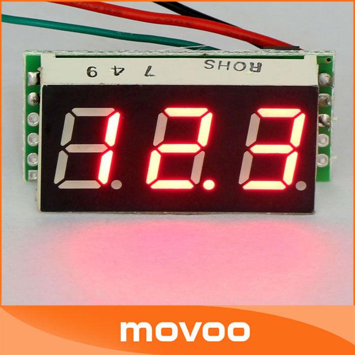 Вольтметр Tester Meter 5 /DC 0.4 DC 0/100 /diy ect #090137 Digital Voltmeter 86a pocket size mini digital multimeter backlight ac dc ammeter voltmeter ohm electrical tester portable 1999 counts meter