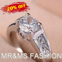 Free Shipping New Arrival Hotselling Wholesales The Arrows inlaid zircon Pierced Heart Rings fashion crystal rings jewelry 1117