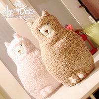 Alpaca doll sheep pillow birthday gift cloth doll
