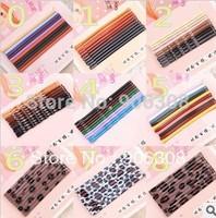 Free Shipping!2014 Fashion colorful plated Dark Colors hair bobby pin metal clips girls' hair barrettes Hair bangs clip 14Styles